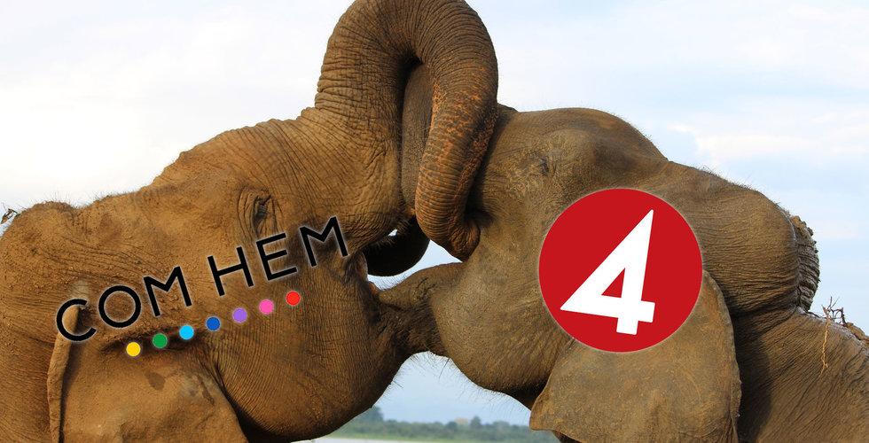 Com Hem varnar för risk att TV4 och C More släcks på fredag natt