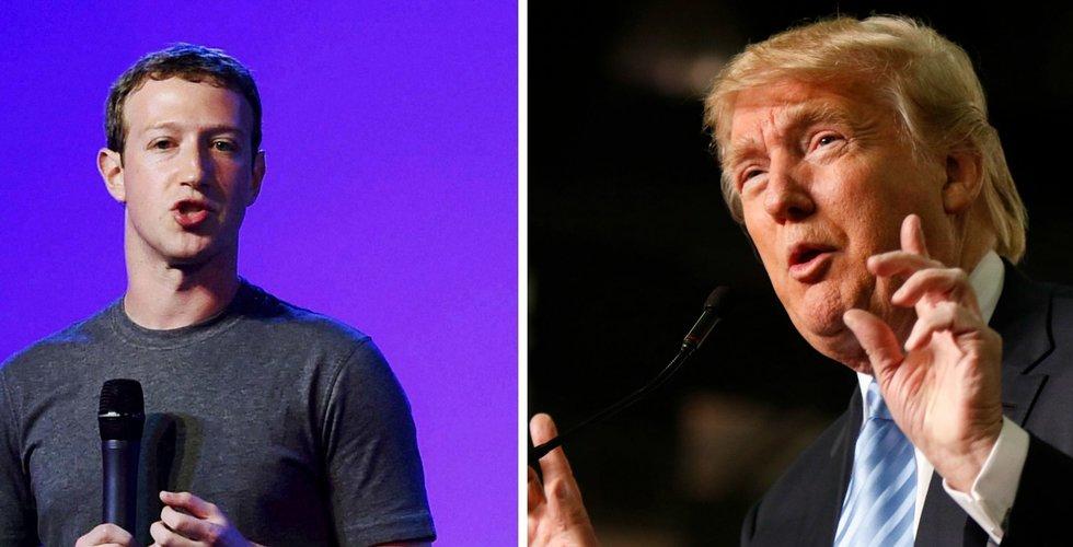 Facebook stoppar politiska annonser veckan innan amerikanska presidentvalet
