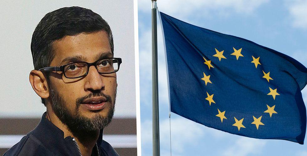 Google överklagar miljardnota från EU