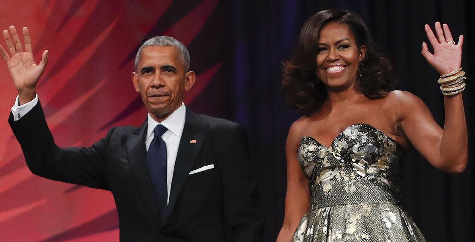 Obama och Netflix i förhandlingar om exklusiva produktioner
