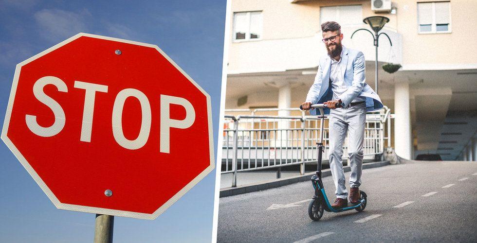 Falskt larm! Elscootrar kommer inte att förbjudas i Sverige (verkar det som)