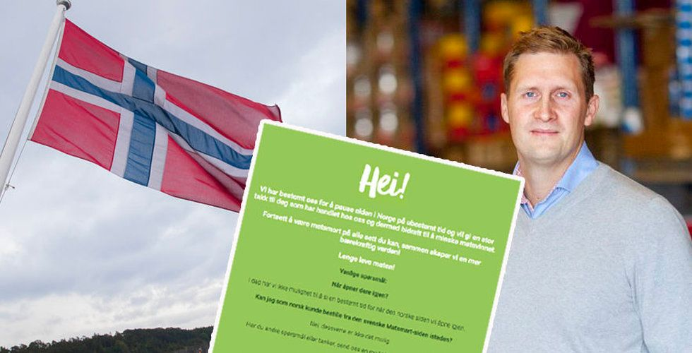 Bakslag för Matsmart – stänger ned sin norska sajt