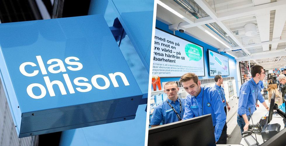 Stängt i Norge – då rusade Clas Ohlsons onlineförsäljning