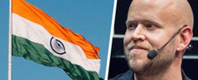 Bakslag för Spotify i Indien