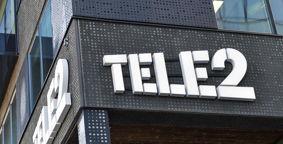 Stora driftsstörningar hos Tele2
