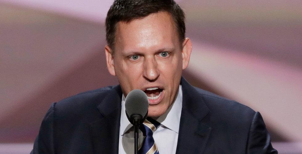 Peter Thiel säljer Facebook-aktier för 240 miljoner kronor