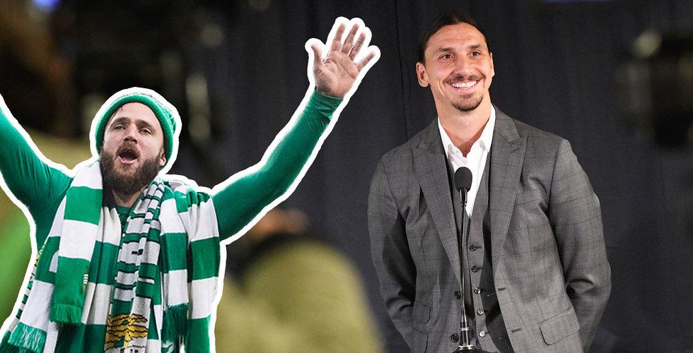 """Zlatan Ibrahimovic investerar i Hammarby – """"Potential att bli störst i Skandinavien"""""""