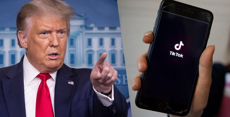 USA kommer blockera nedladdningar av Tiktok och WeChat på söndag
