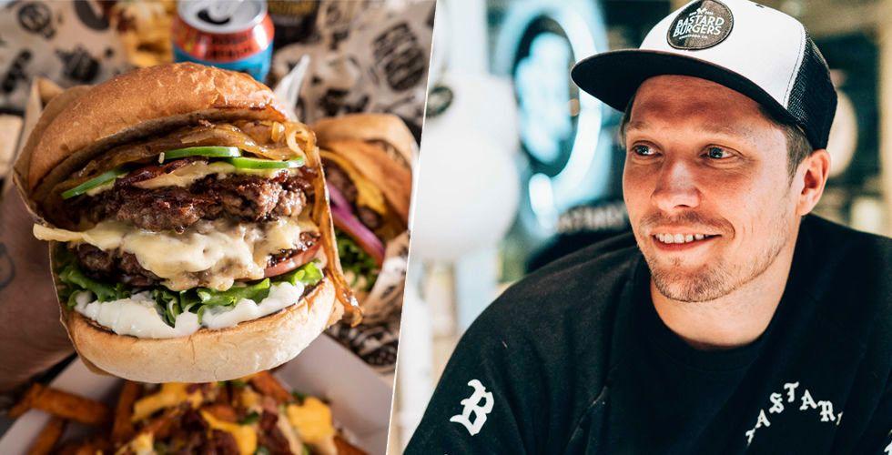 "Bastard Burgers steker sitt varumärke i Skåne – ""Fick en chock"""
