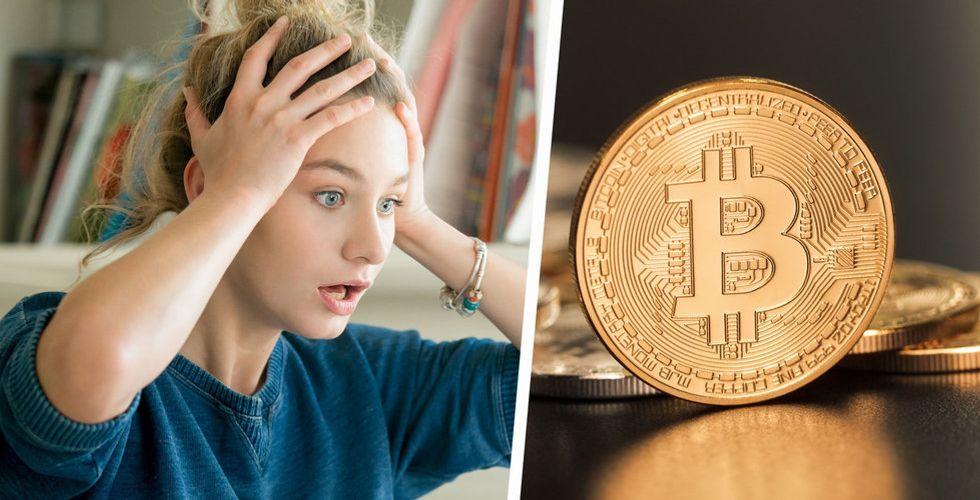 Sämsta månaden för bitcoin på flera år – föll med 37 procent