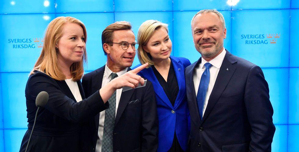 Breakit - Ulf Kristersson – Alliansen död om uppgörelsen förverkligas