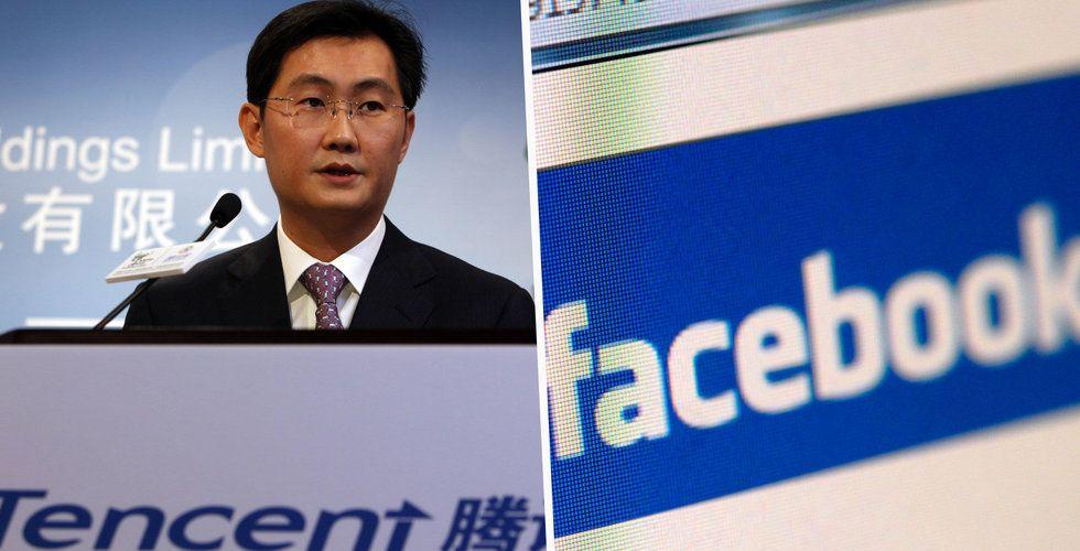 Breakit - Tencent större än Facebook på börsen