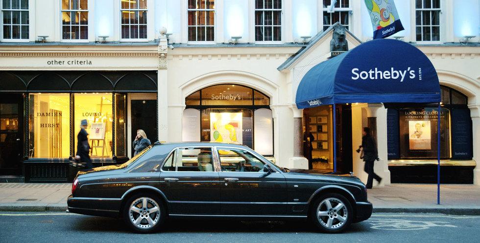 """Klassiska auktionshuset Sothebys auktionerar ut NFT-konst: """"Här för att stanna"""""""