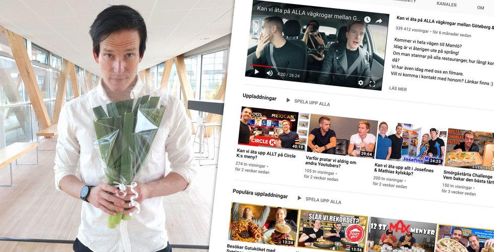 Från purjolöksförsäljare till Youtube-succé – de lockar miljonpublik med Matkoma