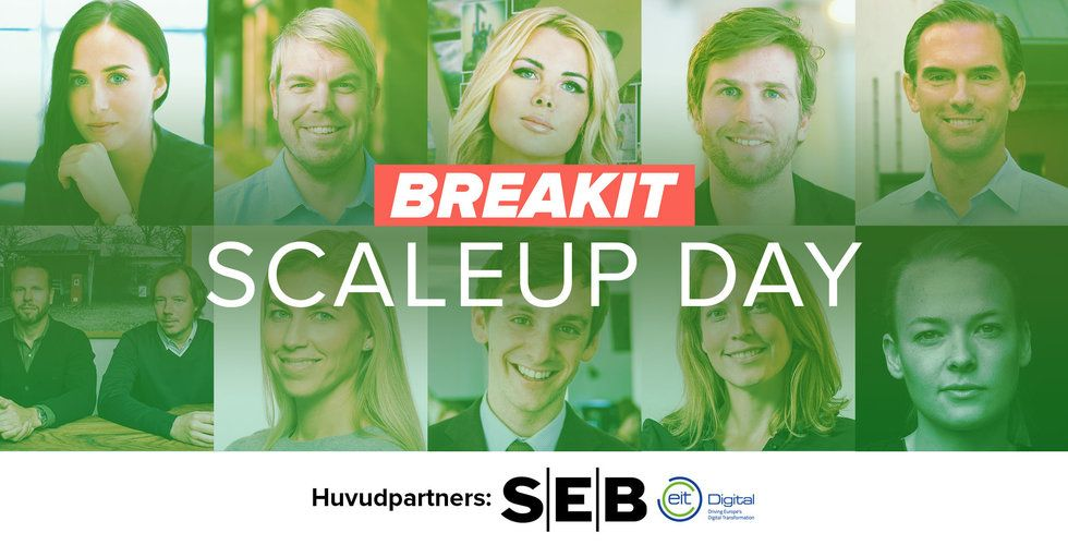 Snart dags för Breakit Scaleup day –boka din plats nu!