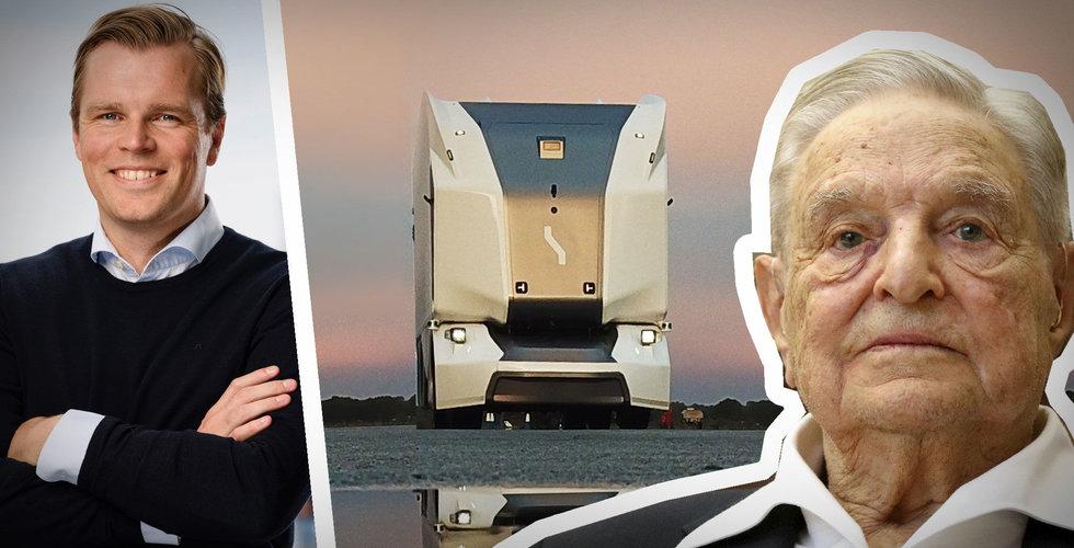Einride tar in miljardbelopp – backas av George Soros