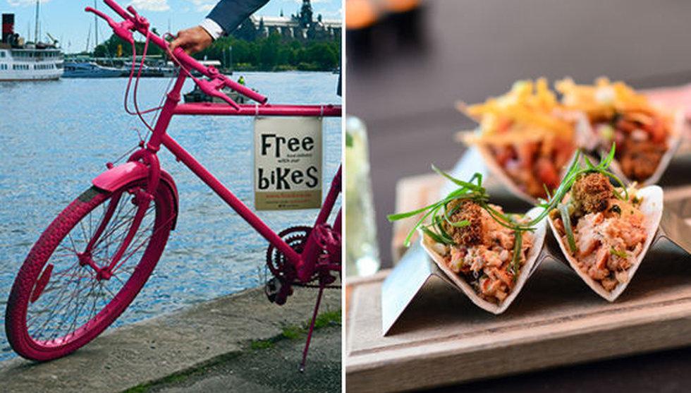 Tysk startup ska cykla ut med lyxig mat till stockholmarens dörr