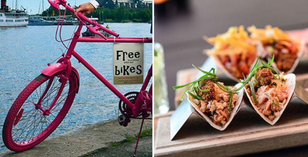 Breakit - Tysk startup ska cykla ut med lyxig mat till stockholmarens dörr