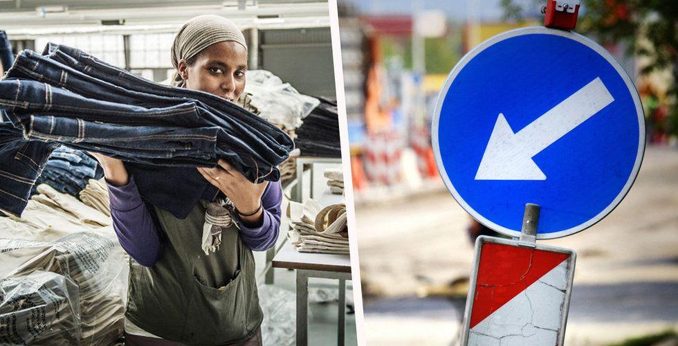 Kenyas vänstertrafik hindrar H&M:s framfart i Etiopien