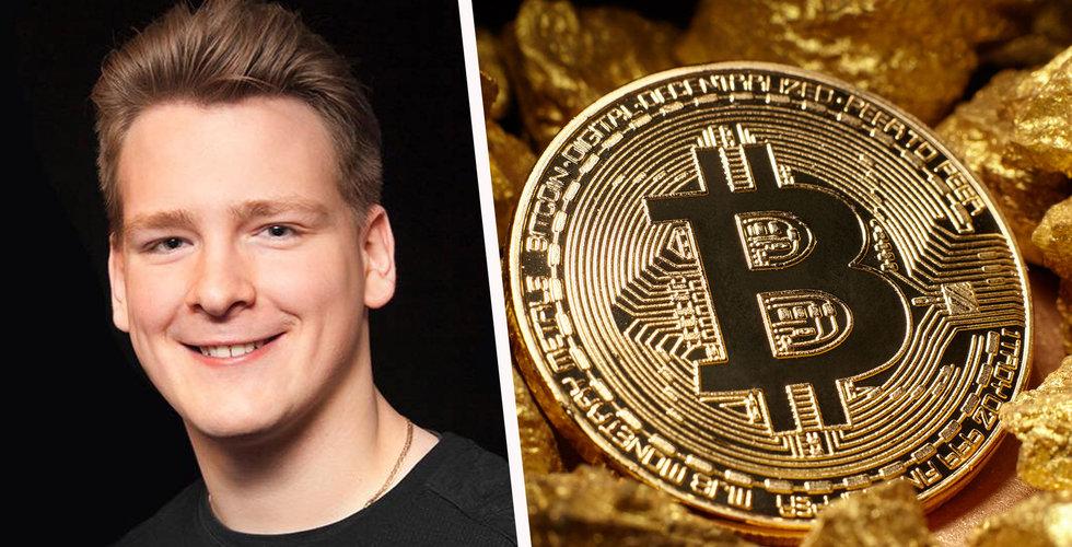 """Breakit - 21-årige """"Ivan on tech"""" gör succé på Youtube – vill utbilda världen om bitcoin"""
