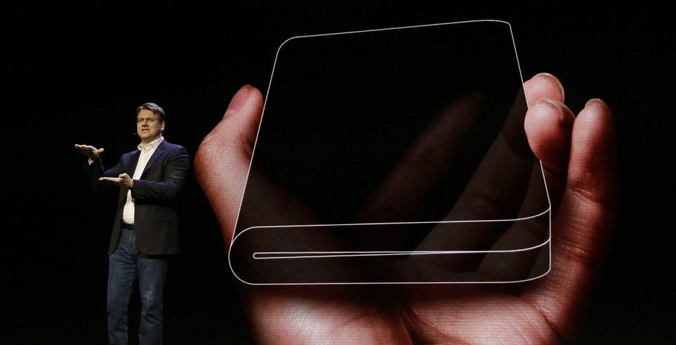 Vikbara telefonen fick problem – då ska Samsungs Galaxy Fold lanseras