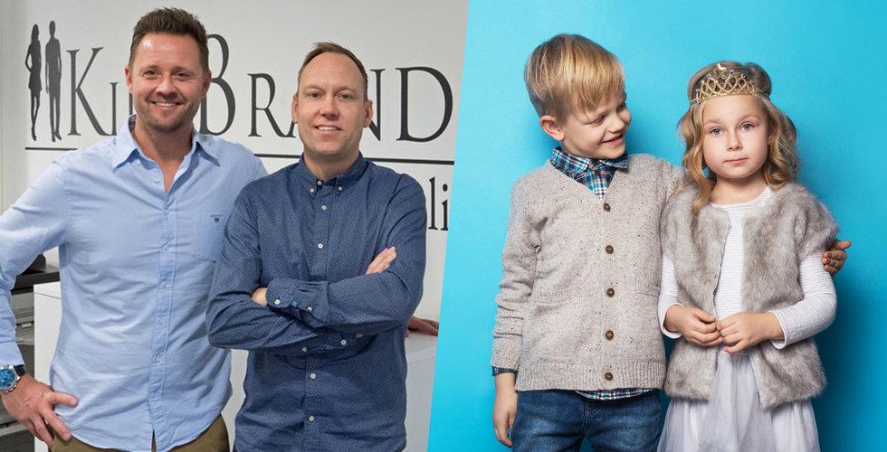 Kidsbrandstore vill klä dina barn i märkeskläder – nu fyller eEquity på kassan