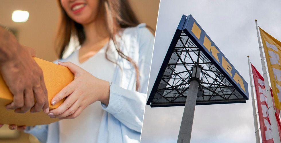 Ikea investerar i amerikanskt techbolag för att vässa returerna