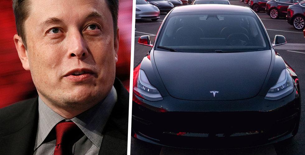 Tesla har temporärt stängt butiker i Kina