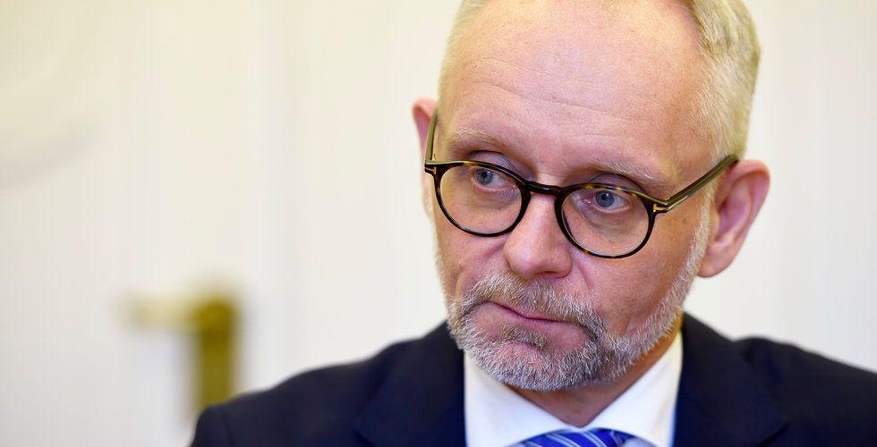 Uppgifter: Anders Bouvin tvingas bort från vd-posten på Handelsbanken