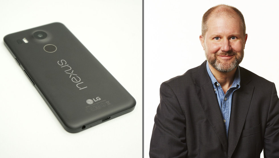 Svenska Fingerprints teknologi i Googles nya telefoner