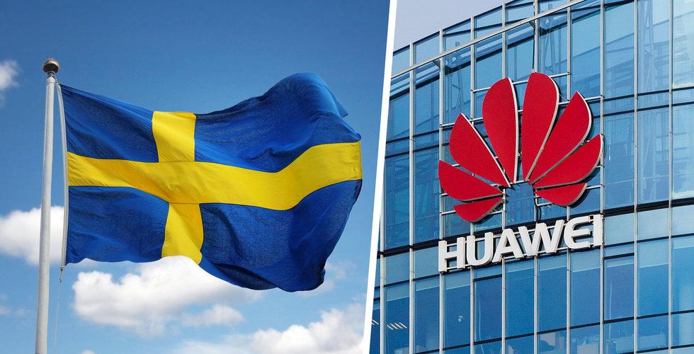 Huawei stoppas i Sverige