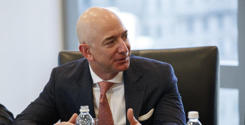Jeff Bezos sålde Amazon-aktier för 35 miljarder innan corona