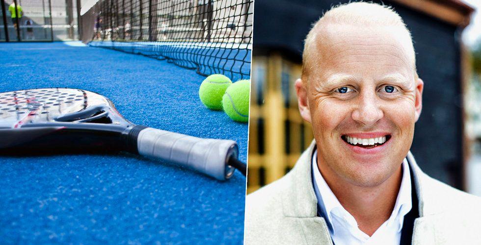 Henrik Persson Ekdahls padel-startup Playtomic köper upp Playven