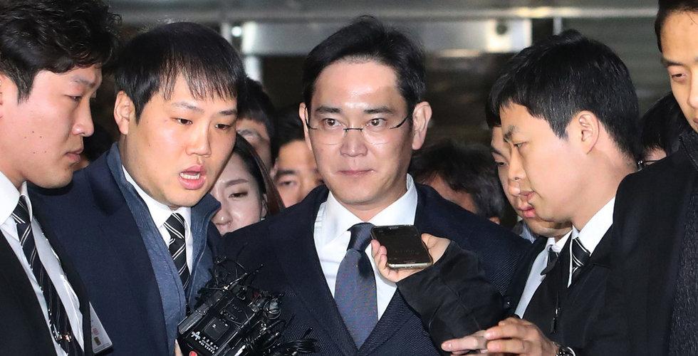 Breakit - Samsungchef gripen – misstänks ha mutat presidentens rådgivare