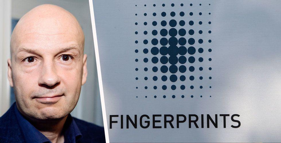 Fingerprints vd köper aktier – för en halv miljon