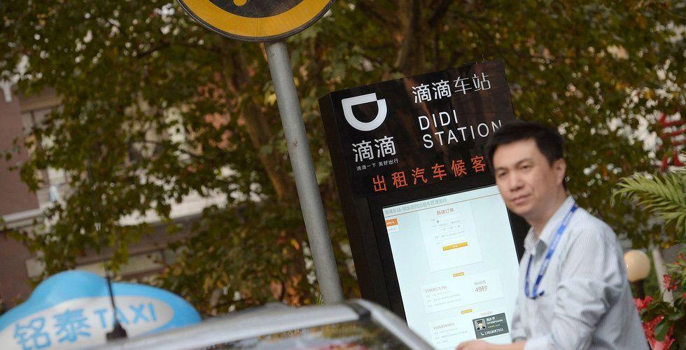 Kinesiska samåkningsjätten Didi Chuxing börjar med cyklar