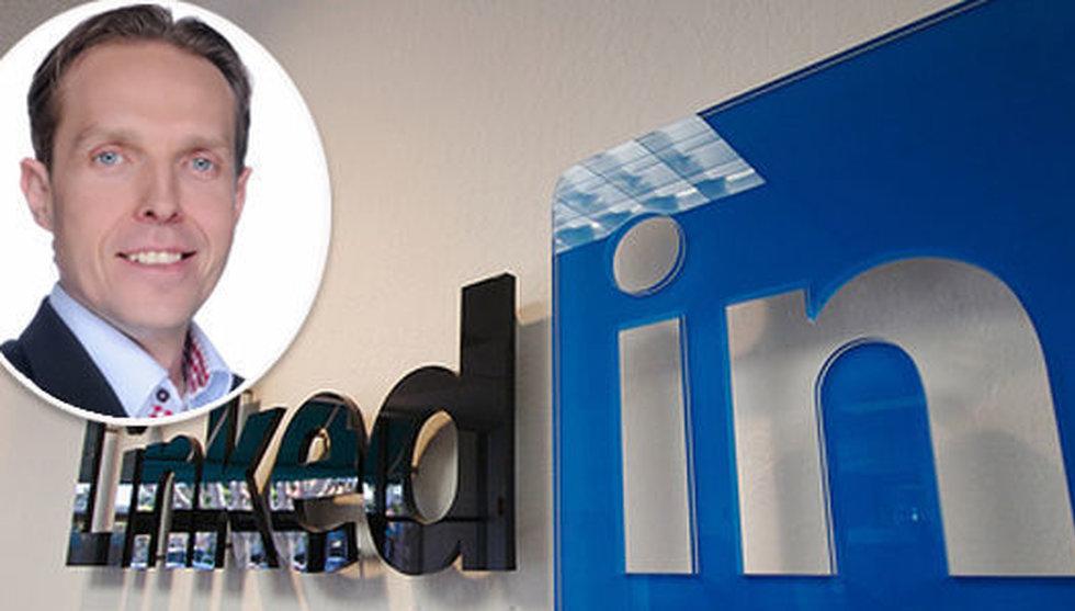 Breakit - Han bytte journalistiken mot toppjobb på nätverket Linkedin