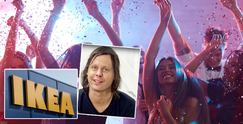 Breakit - Ikea och Teenage Engineering vill skapa spontan fest tillsammans
