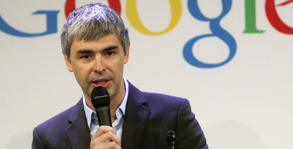 Alphabets vd Larry Page avgår – Sundar Pichai ersätter
