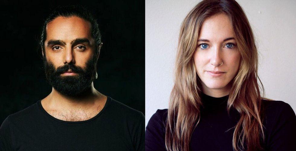 Navid Modiri och Victoria Palm vill bygga en startup – på tystnad och mobilförbud
