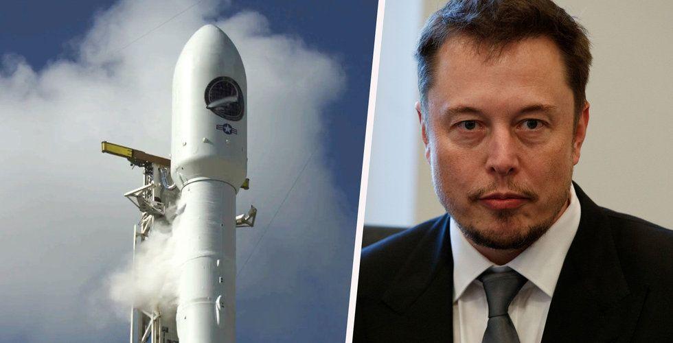 Pentagon tiger om Elon Musks försvunna spionraket