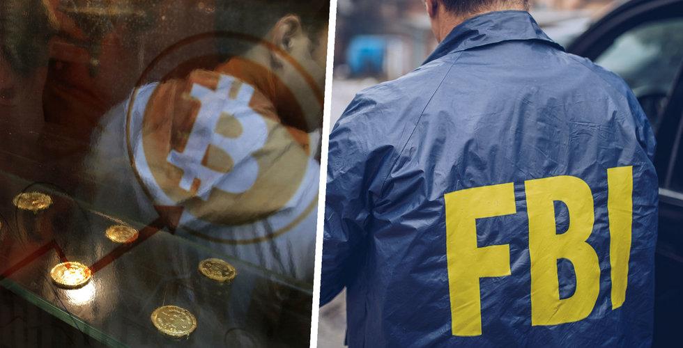 Svensk gripen – misstänks ha tvättat bitcoin för 2,8 miljarder
