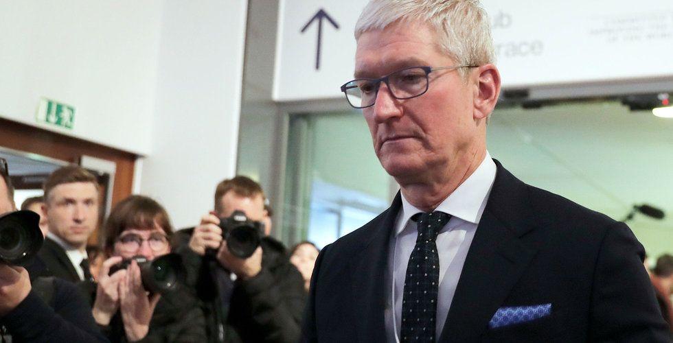 Apple donerar miljontals ansiktsmasker