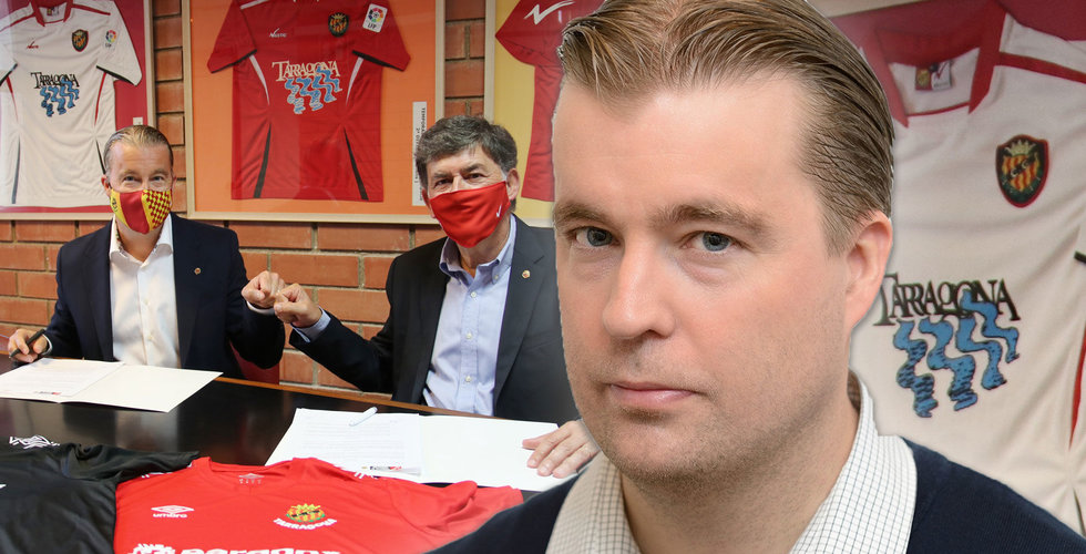 Paradox-miljardären Fredrik Wester köper in sig i spansk fotbollsklubben Gimnàstic de Tarragona