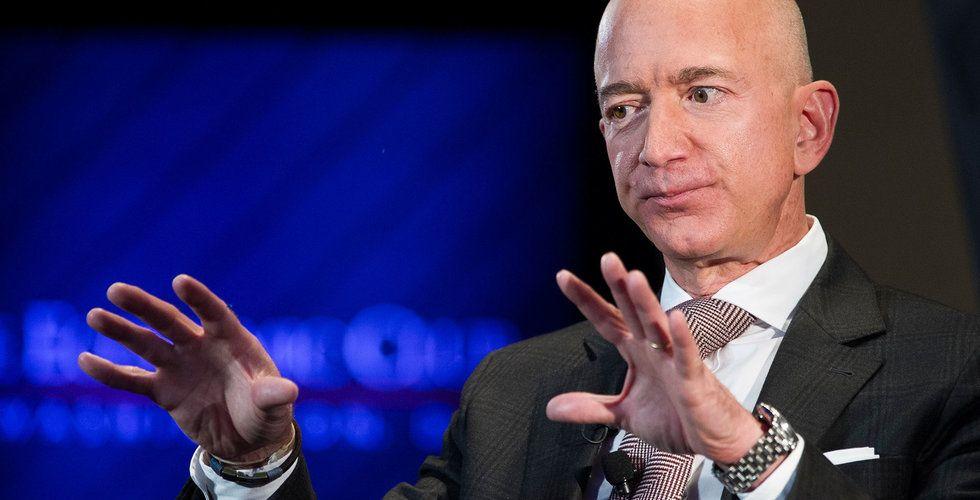 Amazon-anställda i Black Friday-protester