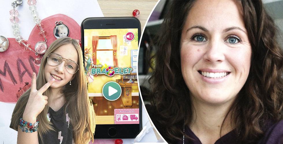 Therese Grahn satsar allt på att göra våra barn till digitala uppfinnare med Pyzzle it