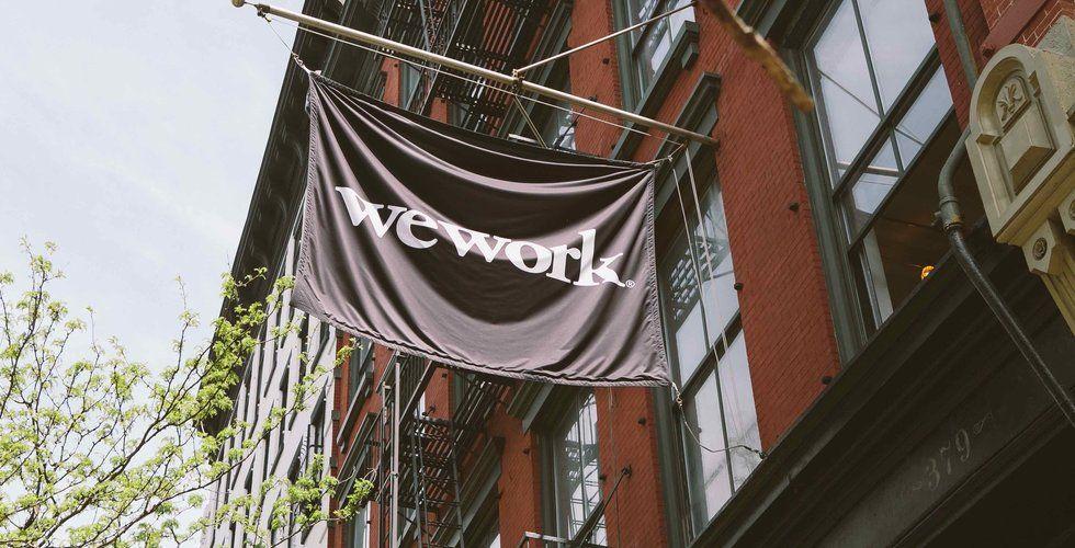Wework mer än dubblade omsättning
