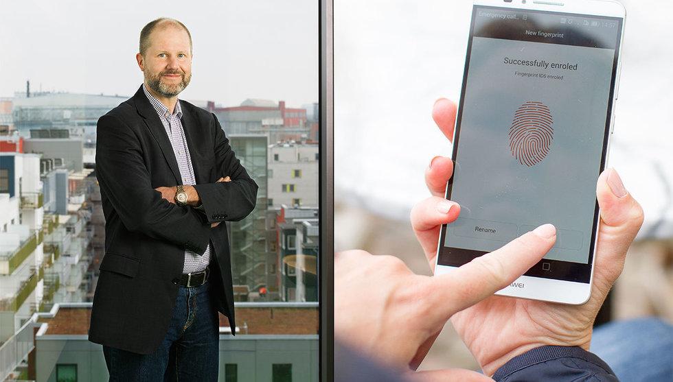 Fingerprint-chefen slår tillbaka mot ryktena om en ny utmanare