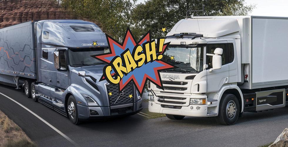 Bråk mellan svenska giganter – Volvo stämmer Scania för patentintrång