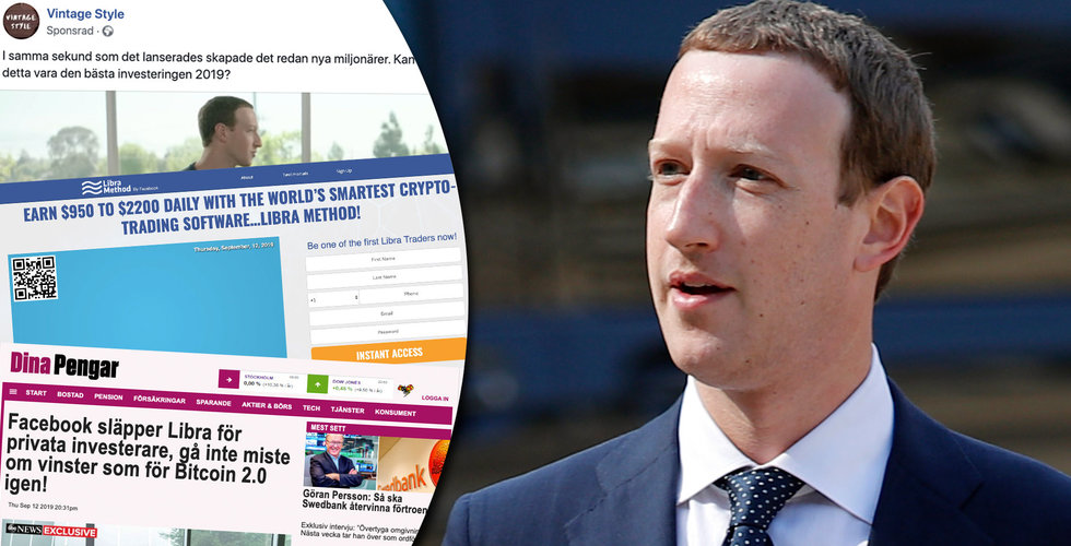 Libra Method: Ny Facebook-bluff utnyttjar Mark Zuckerberg